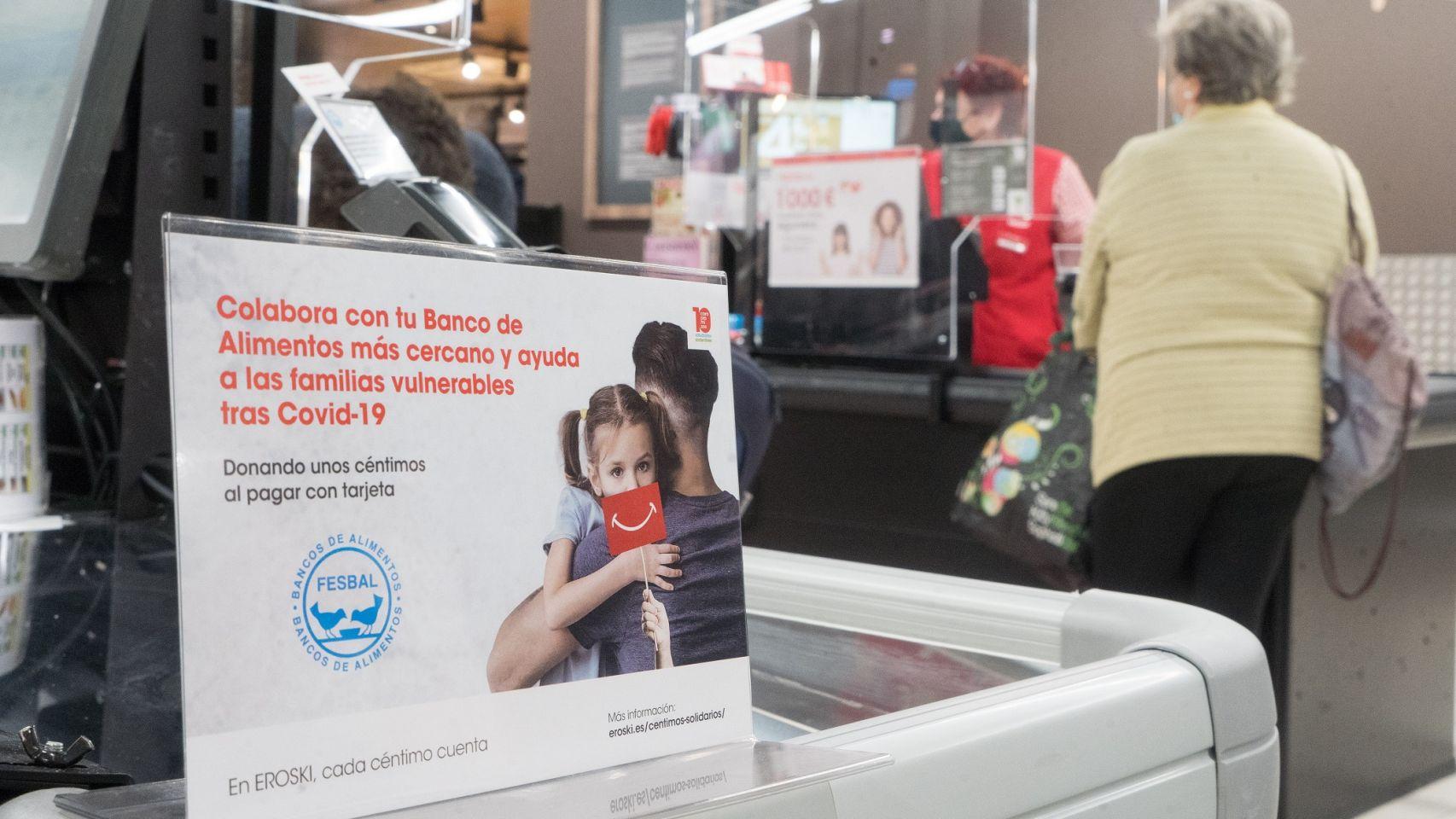 Vegalsa-Eroski y sus clientes donaron un millón de comidas a los bancos de alimentos (Quincemil)