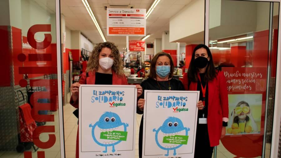 El V Zampakilos Solidario en Eroski y Familia recaudará fondos para los bancos de alimentos