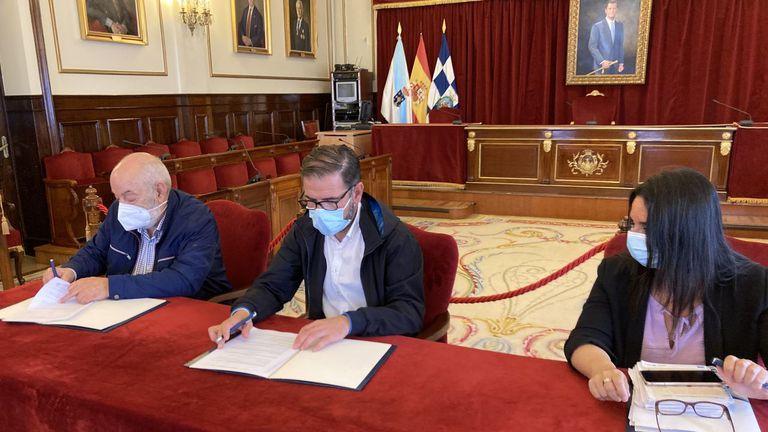 El Concello de Ferrol aporta 35.000 euros al Banco de Alimentos (La Voz de Galicia)