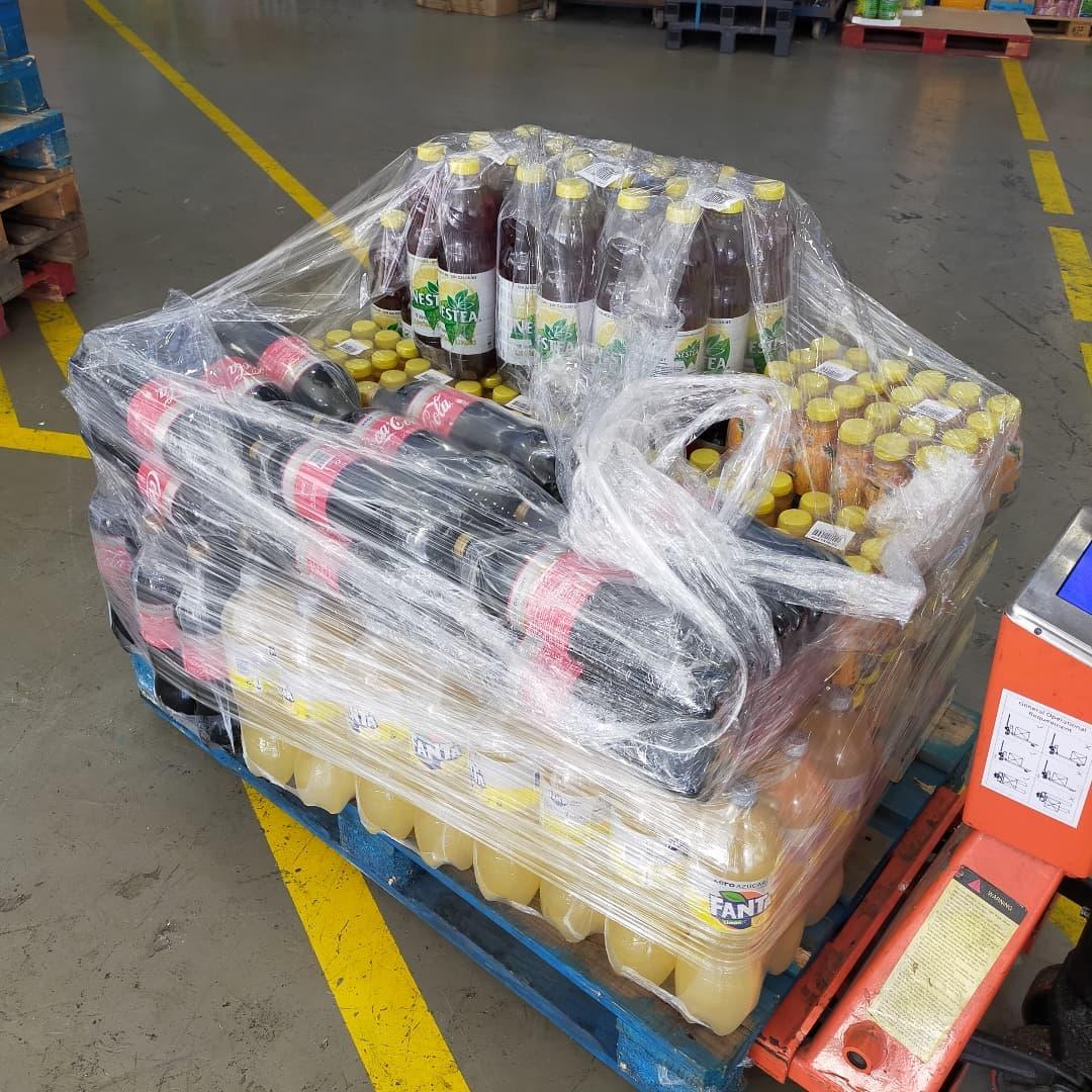 Donación de Cocacola