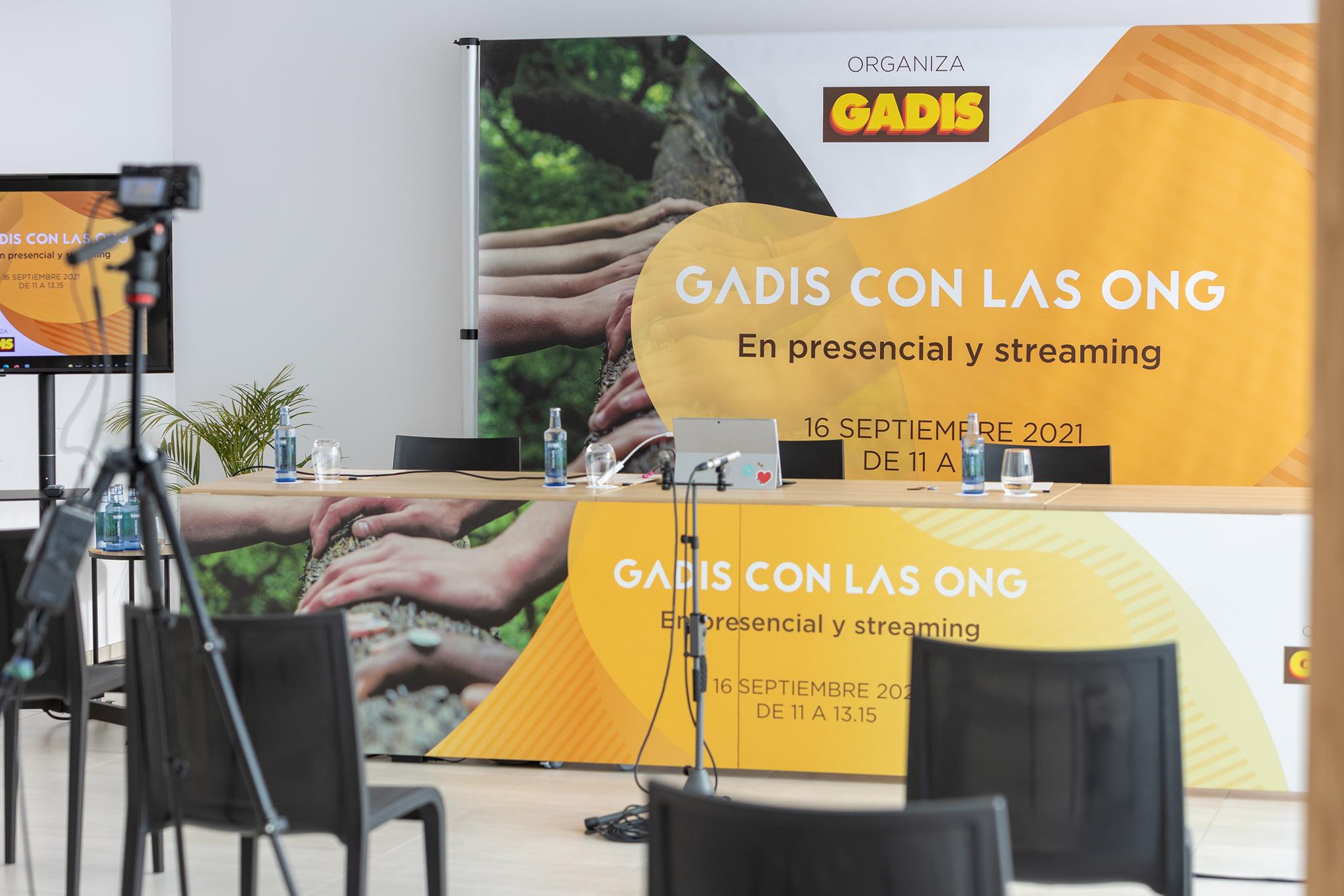Evento Gadis con las ONG